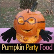 Pumpkin food square
