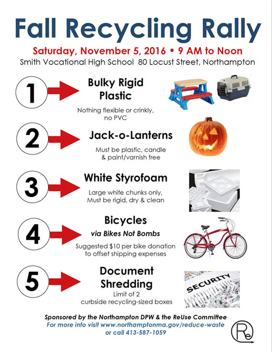 Fall Recycling Rally